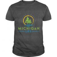 Michigan Life Products including t-shirts and hooded sweatshirts