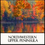 Fall in Porcupine Mountains located in Region 15 Northwestern Upper Peninsula Area