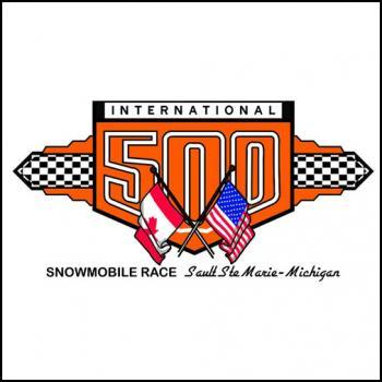 International I-500 Snowmobile Race
