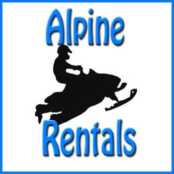 Alpine Snowmobile Rentals in Gaylord Michigan