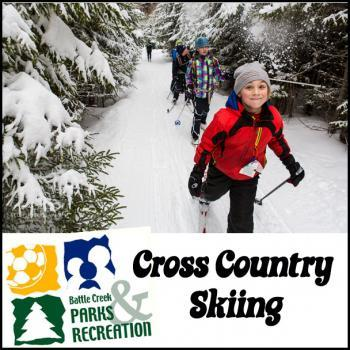 Cross Country Skiing in Battle Creek Area Parks