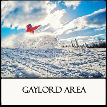 Winter in Michigan's Region 10 Gaylord Area