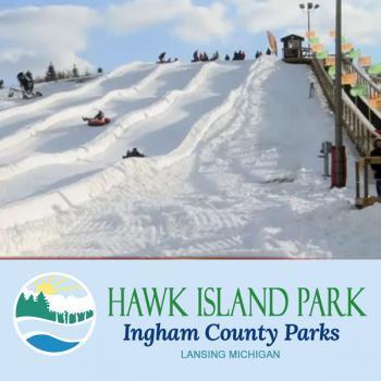 Tubing at Hawk Island Park