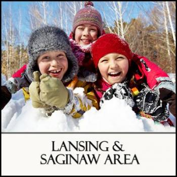 Winter in Michigan's Region 5 Lansing and Saginaw Area