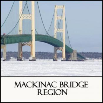 Winter in Beyond The Mackinac Bridge Region