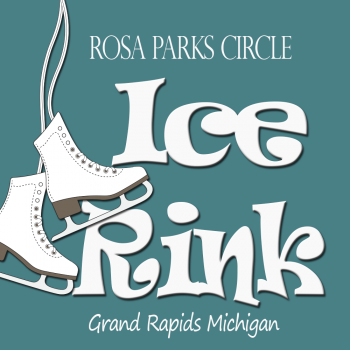 Rosa Parks Circle Ice Rink Grand Rapids Michigan